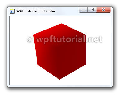 WPF Tutorial | Introduction to WPF 3D