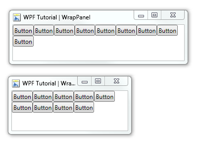 WPF Tutorial | Wrap Panel